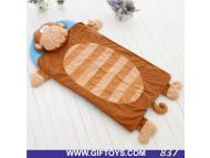 Plush sleeping bag